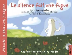 couverture livre CD LE SILENCE FAIT UNE FUGUE