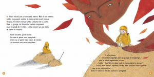 pages intérieures 12&13 LETIKO LA FILLE DU SOLEIL