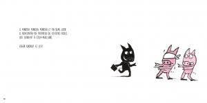 Intérieur du livre CD Edgar d'Alan Mets pages12-13