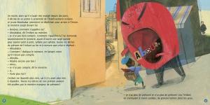 pages intérieures 8&9 LE MONSTRE MANGEUR DE PRENOMS