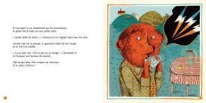 pages intérieures 14&15 OLAF LE GÉANT MÉLOMANE