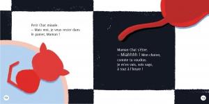 pages intérieures 12&13 PETIT CHAT DÉCOUVRE LE MONDE