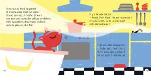 pages intérieures 16&17 PETIT CHAT DÉCOUVRE LE MONDE