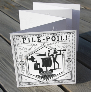 Pile Poil! - livre accordéon de Gwen Keraval