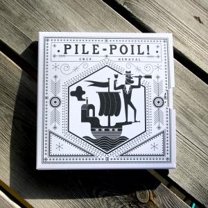 Pile Poil! - livre accordéon dans son fourreau cartonné.