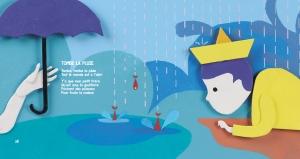 Livre CD Tipi Tipi Ta - Tombe la pluie