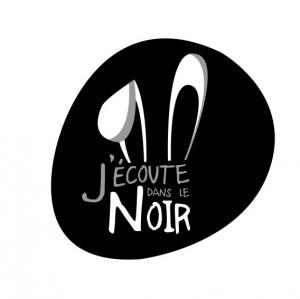 logo de l'atelier J'écoute dans le noir