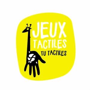 logo de l'atelier Jeux tactiles tu tactiles