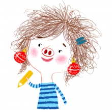 Autoportrait Amandine Piu