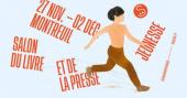 visuel officiel du salon du livre de Montreuil 2019