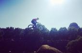 rider en suspension dans l'air, FISE 2017