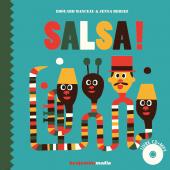 1ère de couve de Salsa !, nouveau livre sonore benjamins media