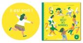 """première de couverture du livre Le bruit des nombres et macaron """"il est sorti"""""""