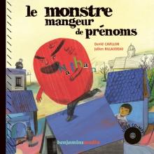 couverture livre CD LE MONSTRE MANGEUR DE PRENOMS