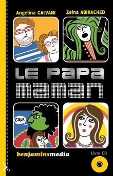 couverture livre CD LE PAPA MAMAN
