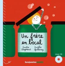 couverture livre CD UN FRÈRE EN BOCAL