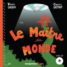 couverture livre CD LE MAÎTRE DU MONDE
