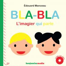 Bla bla, l'imagier qui parle, couverture du livre CD