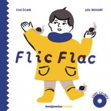 Couverture du livre sonore Flic Flac - benjamins media