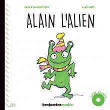 Alain l'Alien - couverture du livre CD