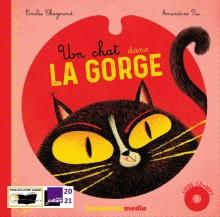 Un chat dans la gorge - livre CD - couverture
