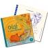 Photo livre CD + braille OLAF LE GÉANT MÉLOMANE