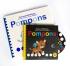 Couverture livre CD + braille GK POMPONS